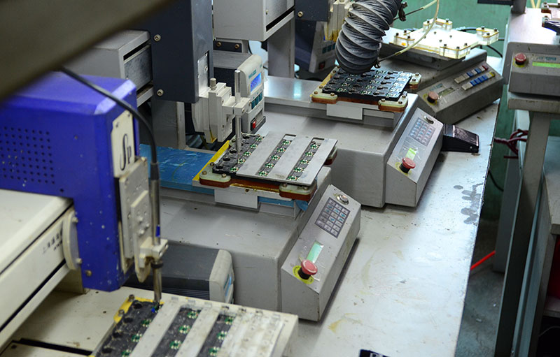 Kaili Electronic Limited Production Line Photo